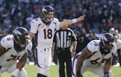 In-Game Photos: Broncos at Raiders