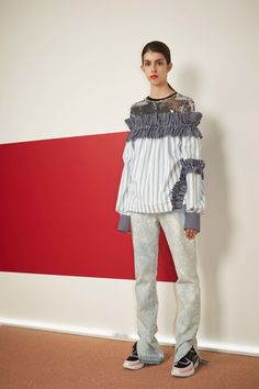 MSGM Resort 2017 fashion show - Pre-Spring-Summer 2017 collection, shown 8th…