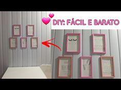 Diy Photo, Diy Birthday, Birthday Gifts, Diy Wall Planter, Nail Salon Design, Do Video, Diy Crochet, Origami, Diy And Crafts