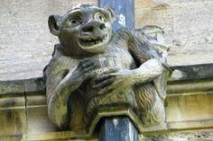 Gargoyle from Magdalene College, Oxford
