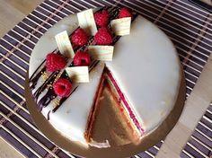 Punčový dort Panna Cotta, Cake Decorating, Cheesecake, Deserts, Pie, Baking, Cupcakes, Ethnic Recipes, Sweet