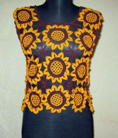 Sun Flower Crochet