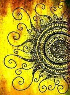 Sun design art