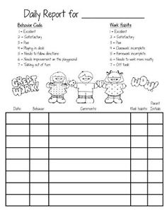 Smiling and Shining in Second Grade: Behavior Chart