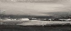 John Virtue - North Sea Paintings and Monotypes Abstract Landscape Painting, Seascape Paintings, Landscape Art, Landscape Paintings, Abstract Art, Environment Painting, Watercolor Sunflower, English Artists, Water Art