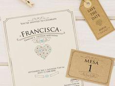 Diseño de invitación para evento social. #invitaciones #diseño
