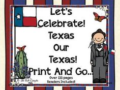 Howdy Friends, This is a Texas sized thematic unit full of Texas pride. The cornerstone of this unit is the introduction to maps in Kindergarten, learning the state symbols and learning more about our great state. This download includes classroom pictures as we prepared for Texas Public School Week and Open House so you will have an inside look.