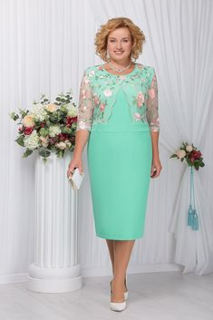 Image description Modest Dresses, Plus Size Dresses, Short Dresses, Prom Dresses, Formal Dresses, Mother Of Groom Dresses, Mothers Dresses, Lace Dress Styles, Mom Dress
