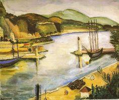 O Porto de Mônaco - Anita Malfatti e suas principais pinturas ~ Pintora brasileira