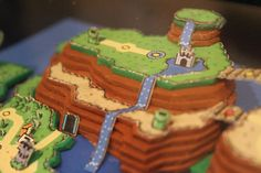 Super Mario World Oberwelt Super Mario World 3D