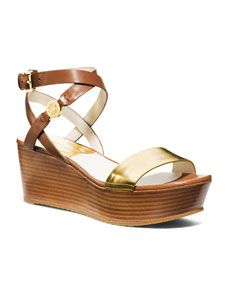 d1b0f4354f918a MICHAEL Michael Kors Jalita Charm Platform Sandal Platform Shoes
