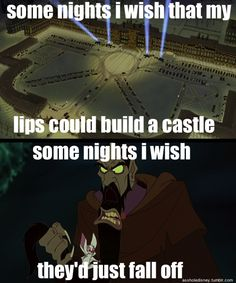 Ohmygod Rasputin!! (even though this isn't really disney...still is great haha!)