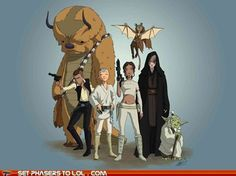 Avatar the Last Airbender and Star Wars crossover. Can't wait for the new Avatar episodes on April 14!