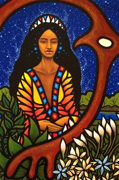 Mother Earth ~ Aaron Paquette (Metis). No date.