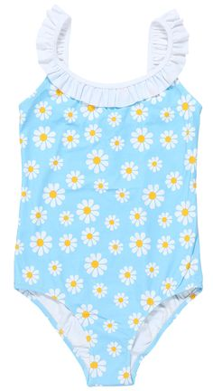 Stella Cove | Daisy Light Blue Swimsuit For Girls