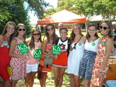 Kappa Delta at Auburn University #KappaDelta #KD #sorority #Auburn