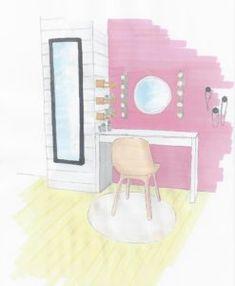 Schminkecke www.lk-design.at Kids Room, Wordpress, Design, Home Decor, Basic Colors, Paint For Walls, Room Kids, Kidsroom, Interior Design