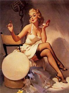 1950s pin-up girl