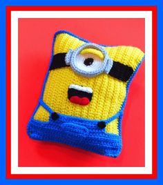 Connie's Spot© Crocheting, Crafting, Creating!: Free Minion Inspired Doll+Pillow Patterns©