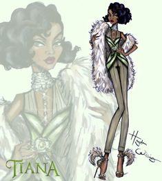 Disney Diva 'Fashionistas' by Hayden Williams: Tiana