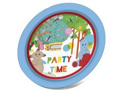 Tesco direct In The Night Garden Party Paper Plates (Pack of 8)  sc 1 st  Pinterest & Personalised In The Night Garden Party Bag Stickers   Night garden ...