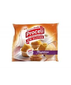 Magdalenas Sin Gluten Proceli 4X40gr Snack Recipes, Snacks, Chips, Food, Gluten Free Cupcakes, Foods, Snack Mix Recipes, Appetizer Recipes, Meal