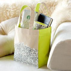 Rodarte Gift Tote C$ 13.95 C$ 7.99 An exclusive designer tote by Rodarte and Starbucks with a pixel pattern and neon accents.