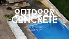 Outdoor- Concreto Outdoor Decor, Design, Home Decor, Products, Decoration Home, Room Decor, Home Interior Design, Home Decoration