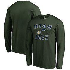 Utah Jazz Fanatics Branded Big & Tall Victory Arch Long Sleeve T-Shirt - Green - $34.99
