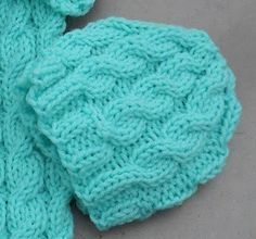 Free Pattern For Knitted Cable Hat