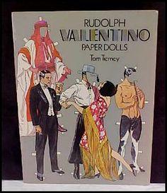 Rudolph Valentino paper doll by Tom Tierney / eBay