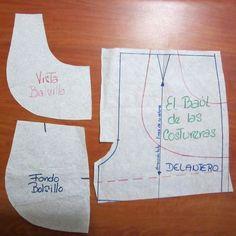 🖐TOCA LA IMAGEN Y APRENDE CORTE Y CONFECCIÓN DE PATRONES DE PANTALONES CORTOS PASO A PASO CURSO GRATIS 🖐 Sewing Shorts, Sewing Clothes, Doll Clothes, Short Niña, Dress Making Patterns, Chor, Jacket Pattern, Sewing Basics, Sewing Techniques