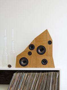 wow & flutter speaker system