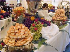Appetizers for Weddings | Down South Delights Appetizer Fruit Table