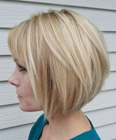 Super Cool Short Bob Haircuts 2018 for Women Over 40