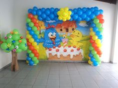 Ideas Para Fiestas, Baby Shark, Baby Party, First Birthdays, Party Time, Balloons, Amelia, Goody Bags, Globes