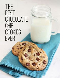 The Best Chocolate Chip Cookies Ever, and the secret to making them look so good