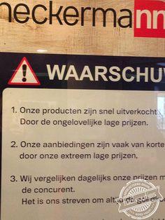Er is wel meer niet te geloven ... #taalvout  (Met dank aan Marlies Nijborg!)