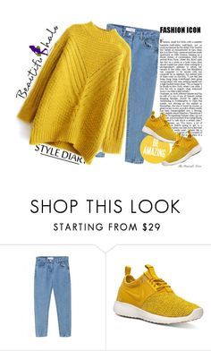 """""""Mustard - Beautiful Halo"""" by fra3 ❤ liked on Polyvore featuring NIKE, women's clothing, women's fashion, women, female, woman, misses, juniors and beautifulhalo"""