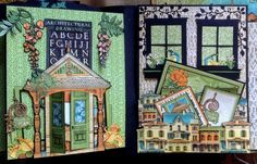 annes papercreations: Sneak peek of my upcoming Artisan Style photo album by Anne Rostad