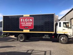 Our delivery truck with our brand new branding is out and about. Free Range, Delivery, Branding, Trucks, Truck, Brand Management, Cars