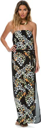 EIGHT SIXTY KIMONO FLORAL STRAPLESS MAXI DRESS > Womens > New Arrivals | Swell.com