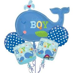 A Whale Theme Baby Shower |