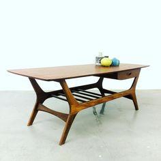 Soon on www.19west.de: a 60's coffee table by WeBe. #19west #retro #vintage #design #dutch #dutchdesign #interiordesign #furnituredesign #modernist #modern