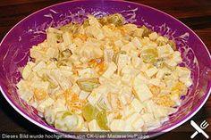 Gouda - Salat, ein schönes Rezept aus der Kategorie Eier & Käse. Bewertungen: 33. Durchschnitt: Ø 4,4.