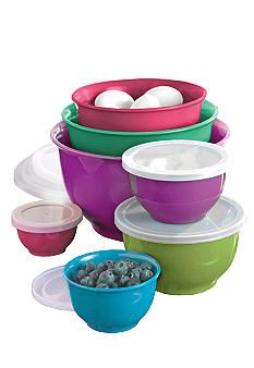 Cooks Tools™ 14-Piece Melamine Mixing Bowl Set