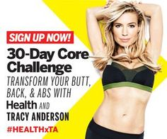 30-Day Total Body Challenge - Diet Fitness - Health Mobile