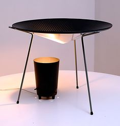 IMPORTANT RARE Heifetz MoMA Lighting Design 1st Place Lamp | From a unique collection of antique and modern table lamps at http://www.1stdibs.com/furniture/lighting/table-lamps/