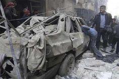 36 dead in air strikes on Syria's #Aleppo: monitor.  At least 36 people were killed Sunday in regime air strikes and aerial attacks with explosive-packed barrels on the northern #Syrian city of #Aleppo, a monitoring group said. #WorldNews