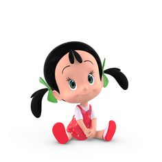 Cleo & Cuquin Cartoon Girl Images, Cute Cartoon Girl, Clipart Baby, Cute Girl Drawing, Baby Drawing, Kids Cartoon Characters, Cartoon Kids, Cute Disney Drawings, Chibi Girl